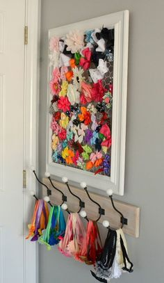 DIY Hair Bow Holder (plus where to find cute hairbands for cheap!)