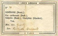 antique specimen labels - Google Search
