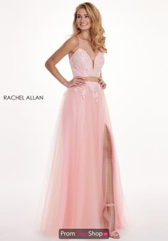 0432e3e9c8a Fun and flirty prom dress 6466 by Rachel Allan is the perfect choice for  any upcoming