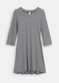 Organic Cotton Easy Stripe Tunic Dress | Rodale's