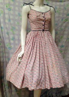 "adorable vintage 1960s Lanz dirndl dress is going on etsy July 26, 2012. waist measures 23"". $89"