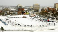 The Halifax Skating oval is complete! Halifax Map, Outdoor Skating, Atlantic Canada, Cape Breton, Prince Edward Island, Quebec City, New Brunswick, The Province, Newfoundland