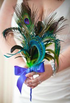 Feathers for bouquet
