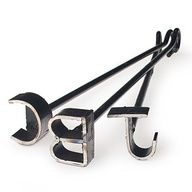 Steak Branding Iron | These clever branding irons, from the famous King Ranch Saddle Shop in Kingsville, Texas, allow you to make your mark on dinner. $10 each | SouthernLiving.com