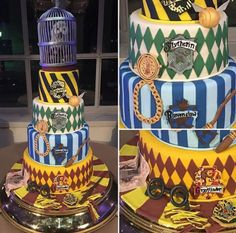 Every wedding deserves this beautiful Harry Potter cake