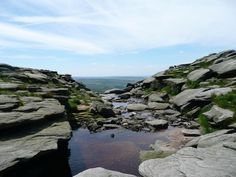 Kinder Downfall looking west