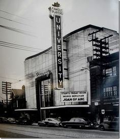 (**this was hands down, the BEST theatre in Toronto EVER! Now, it's condos - FML**) Toronto, University Cinema, Native Canadian, O Canada, Local History, Concert Hall, Vintage Movies, Travel Essentials, Time Travel, Niagara Falls, Ontario