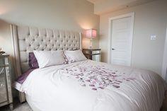 #halifax #novascotia #QEII #lottery #grandprize #condo #kingswharf #dartmouth #design #home #bedroom #bed #bedspread #headboard #bedsidetable