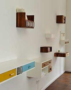 kantinen einrichtung mit schubladen k sten via designchen wir haben die quelle verloren. Black Bedroom Furniture Sets. Home Design Ideas