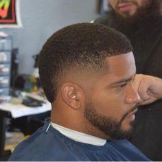 Nice cut and beard