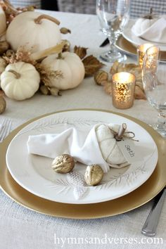 Learn how to make this easy cornucopia napkin fold for your Thanksgiving tablescape. You can fill the opening with candy, nuts, or a pumpkin placecard! Thanksgiving Table Settings, Thanksgiving Tablescapes, Thanksgiving Decorations, Thanksgiving Ideas, Thanksgiving Cornucopia, Holiday Decor, Seasonal Decor, Christmas Decor, Christmas Ideas