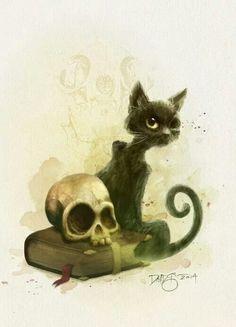 Edgar Allen Poe's Black Cat