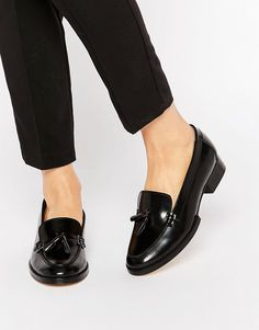 4258bae2eeed Image 1 of Park Lane Tassle Leather Loafers Leather Loafers