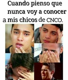 Memes Cnco, Funny Memes, I Love Him, Love You, My Love, Latin Music, Find Picture, Boy Bands, Sad