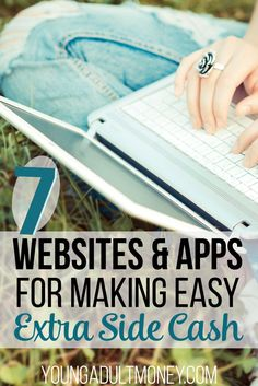 Want to earn extra money on the side, but don't want to start a side hustle to do it? There are other ways to earn money on the side. These 7 websites and apps give you a great start!