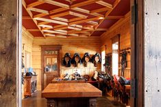 Butcher block wood countertops are built in our wood shop Butcher Block Wood, Barn Apartment, Wood Countertops, Dream Barn, Horse Barns, Horse Riding, Stables, Beautiful Horses, Tack Rooms