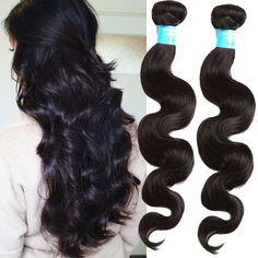 "Hot Peruvian Human Hair Extensions 18""20""22""24""26"" 5Bundles Grade 6A body wave  #WIGISS #HairExtension"