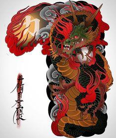 Xăm Tattoos And Body Art sleeve tattoo designs Chinese Tattoo Designs, Japanese Tattoo Art, Japanese Sleeve Tattoos, Dragon Tattoo Designs, Tattoo Sleeve Designs, Chinese Tattoos, Cover Up Tattoos, Body Art Tattoos, Full Hand Tattoo