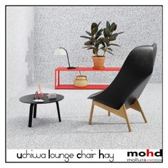 """""""Uchiwa Lounge Chair Hay - Mohd home design Mollura furniture"""" by mohd-homedesign ❤ liked on Polyvore featuring interior, interiors, interior design, home, home decor and interior decorating"""
