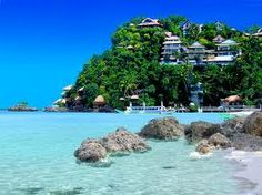 boracay beach in the philippines , every year thousand of tourist mostly european visit this island , a haven to explore .