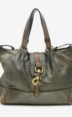 Chloé Black And Brown Shoulder Bag