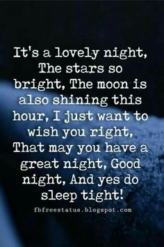 great night quotes