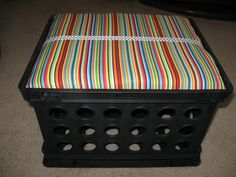 do it yourself stool for the classroom library-tutorial to make them- I really should do this, this summer.