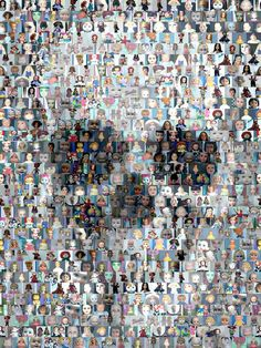 Skull Mosaic by Paul Van Scott