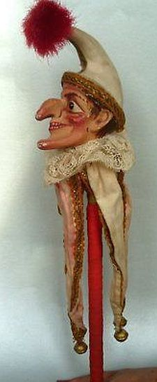 Old Punch the Jester from a Judy and Punch Toy Theatre.