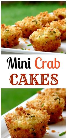 VIDEO + Recipe for Mini Crab Cakes from NoblePig.com