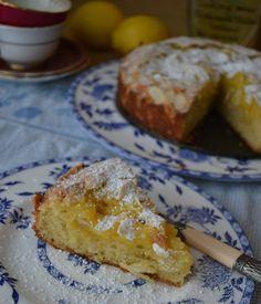 Lemon Almond Torta - more than burnt toast