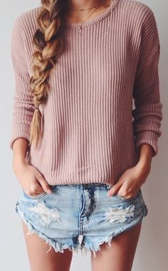 Love the top but with some longer shorts imo.