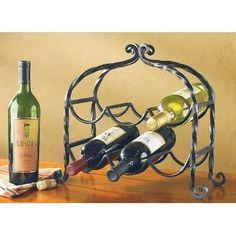 Scroll Wine Rack for 6 Bottles