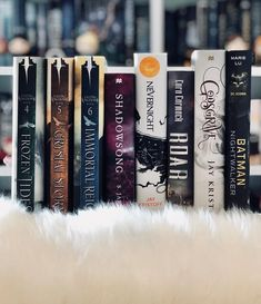 """238 Likes, 23 Comments - Jessica ♀️ (@jessireads) on Instagram: """"• FEBRUARY WRAP UP ♀️ (9 books!) » Frozen Tides   5/5 » Crystal Storm   4/5 » Immortal Reign  …"""""""