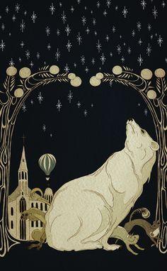 Kate Baylay's illustration for the Cover of Pullman's HIs Dark Materials http://1.bp.blogspot.com/-iYrObaKIN-U/T60IdneiGGI/AAAAAAAALnc/Jwodbas8VME/s1600/Original+artwork+for+the+cover+of+His+Dark+Materials+by+Philip+Pullman.jpg