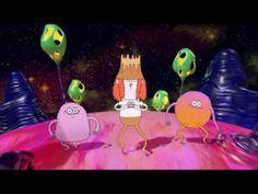 Flume - Space Cadet (ft. Ghostface Killah & Autre Ne Veut) - dir. by the guy who made Bob's Burgers!