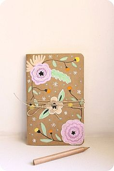 Moleskine, Diy Paper, Paper Crafts, Papier Diy, Masking Tape, Book Art, Blog, Notebook, Inspiration