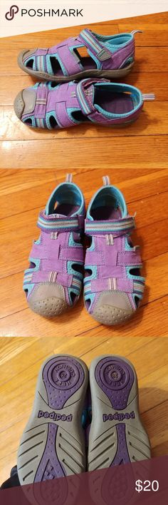 aac5ca8be Girls pediped sandals Barely used size 28 (11-11.5). These are washable