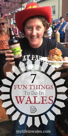 Here are 7 fun things to do in Wales that you might have on your Bucket List. Best Of Wales, Barafundle Bay, Castles In Wales, Welsh Recipes, Visit Wales, Aberystwyth, Best Pubs, Brecon Beacons, Snowdonia