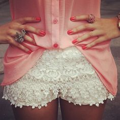 Just love this style in shorts
