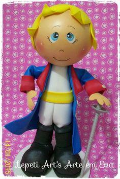 Boneco em Eva personagem aviador R$ 35,00