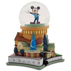 Disney Store D23 Membership Exclusive Walt Disney Studios Musical Snowglobe -- Quickly view this special  product, click the image : Home Decor Snow Globes