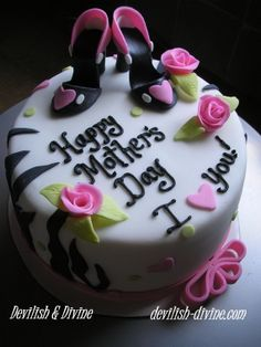 There are many great Mothers Day Cake Design you can cook and decorate. Wish a Mother's day with one of these amazing Mothers Day Cake Design that everyone will remember. Fondant Cupcakes, Cupcake Cakes, Pretty Cakes, Beautiful Cakes, Amazing Cakes, Mothers Day Cakes Designs, Mothers Day Desserts, Cake Pictures, Cake Images