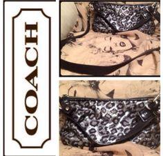 COACH - Animal Print Bag