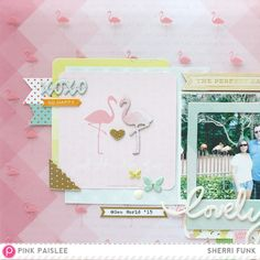 The Perfect Day @sherrifunk @pinkpaislee #scrapbooking #scrapbooklayout #ppCitrusBliss