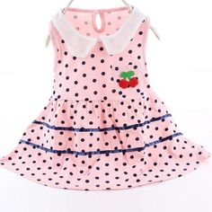 Baby Girls Dresses New Princess Baby Outfits Girl Cotton Sleeveless Tops Mini Dress Summer Dot Infant Outerwear Baby Clothing
