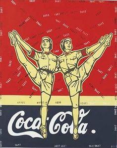 Great Criticism – Coca-Cola - Wang Guangyi
