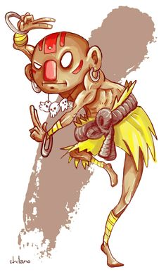 Dhalsim  by ~doodlebucket