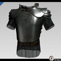 http://www.turbosquid.com/3d-models/medieval-fantasy-half-plate-armor-3d-model/206561