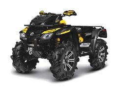 And we'll have half a dozen of these CAN-AM Outlander 800Xmr (the 2seater one!) for all of us and our guests to play on-Tara